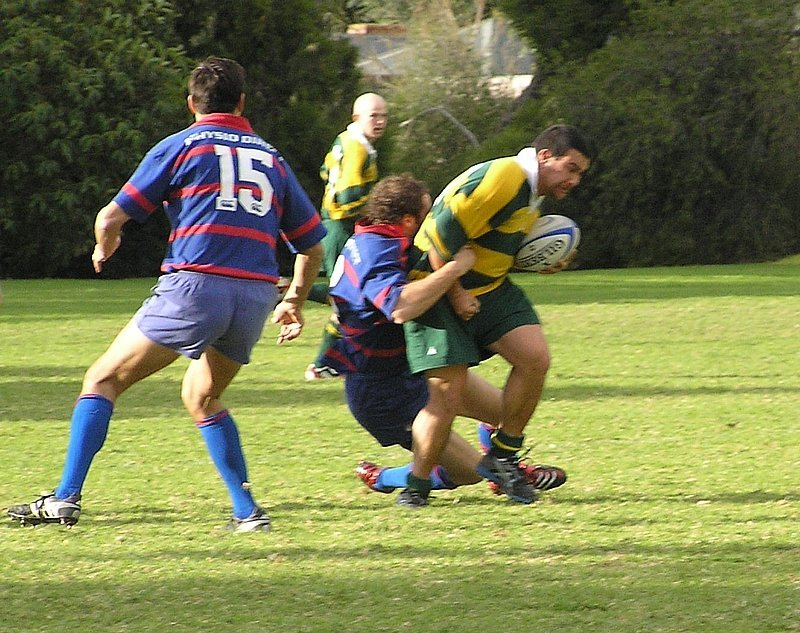 1st-XV-v-Woodville-Andy-Farquharson-tackles