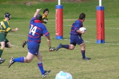 2nd-XV-v-Woodville-David-King-running-to-score